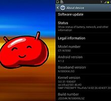 Root Galaxy Note n7000XLA1 To Android Jelly Bean by FSitses