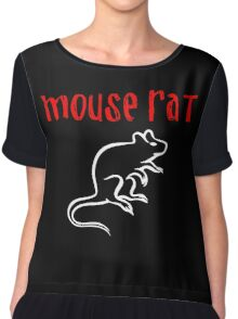 Mouse Rat Fan art Chiffon Top