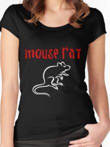 Mouse Rat Fan art Women's Fitted Scoop T-Shirt