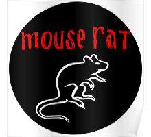Mouse Rat Fan art Poster