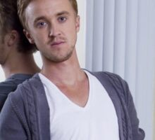 tom felton Sticker