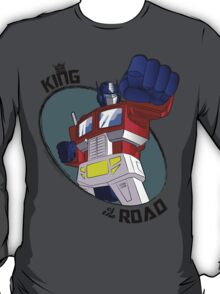 Optimus Prime - King of the Road (punch) T-Shirt