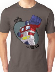 Optimus Prime - King of the Road (punch) Unisex T-Shirt