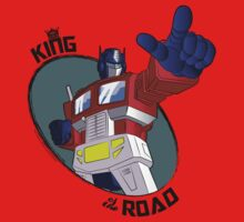 Optimus Prime - King of the Road (point) One Piece - Short Sleeve