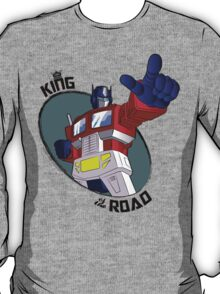 Optimus Prime - King of the Road (point) T-Shirt