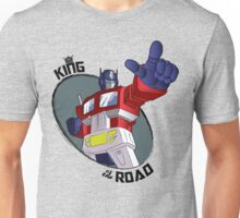 Optimus Prime - King of the Road (point) Unisex T-Shirt
