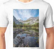 Mountain Lake Alberta Canada Unisex T-Shirt