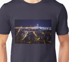 Barcelona by Night Unisex T-Shirt