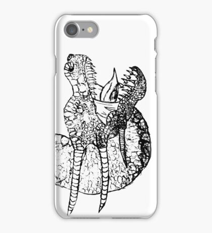 Dragon Sketch iPhone Case/Skin