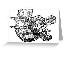 Dragon Sketch Greeting Card