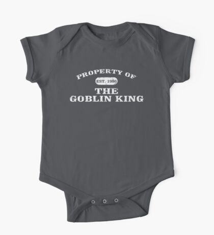 Property of the Goblin King One Piece - Short Sleeve