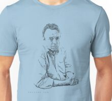 Hitchens drawn with spots Unisex T-Shirt