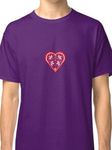 Folk heart 3 centre Classic T-Shirt