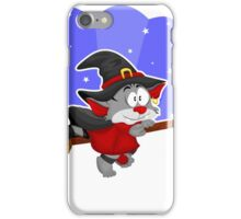 Halloween cat iPhone Case/Skin
