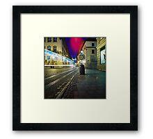 ...night city... Framed Print