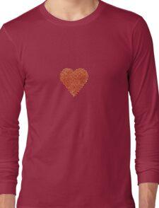 halftone heart Long Sleeve T-Shirt
