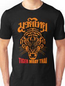 tiger muay thai thailand martial art 3 Unisex T-Shirt