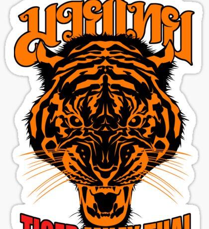 tiger muay thai thailand martial art 3 Sticker