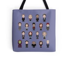 New Who Doctors and Companions (pillow/bag) Tote Bag