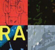 Radiohead Pop Art 2 Sticker