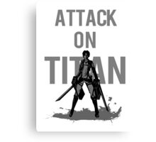 Attack On Titan Eren Jaeger Canvas Print