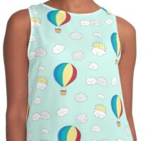 Up in our sky Contrast Tank