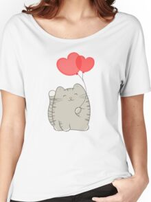 eli, the love cat Women's Relaxed Fit T-Shirt