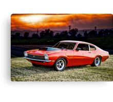 1971 Ford Maverick 'Street Smart' Canvas Print