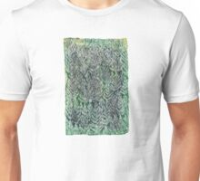 Snow Pines(Light Green) Unisex T-Shirt
