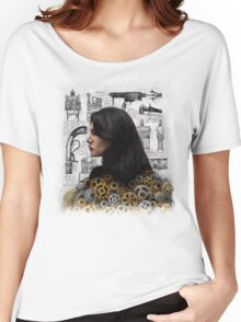 The Past is the Beginning of a Beginning Women's Relaxed Fit T-Shirt