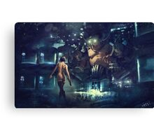 The Last Smile Canvas Print