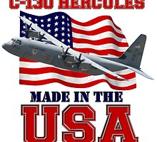 C-130 Hercules Made in the USA by Mil Merchant