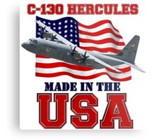 C-130 Hercules Made in the USA Metal Print