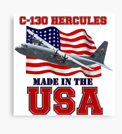 C-130 Hercules Made in the USA Canvas Print