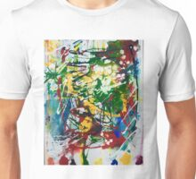 Primary Splatter Unisex T-Shirt