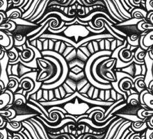 SYMMETRY - Design 001 (B/W) Sticker