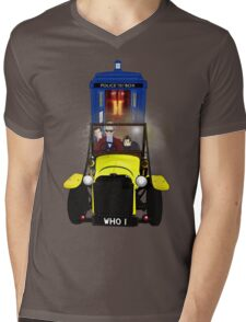 Time Lord Road Trip! Mens V-Neck T-Shirt