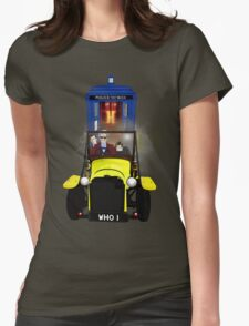 Time Lord Road Trip! Womens Fitted T-Shirt