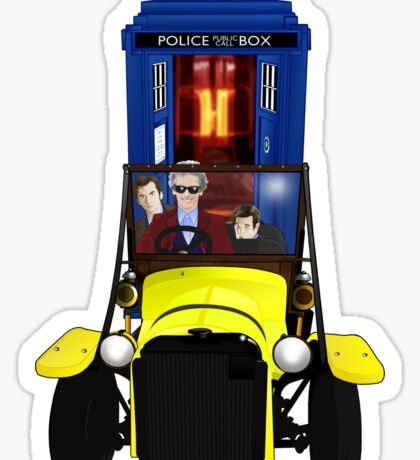 Time Lord Road Trip! Sticker