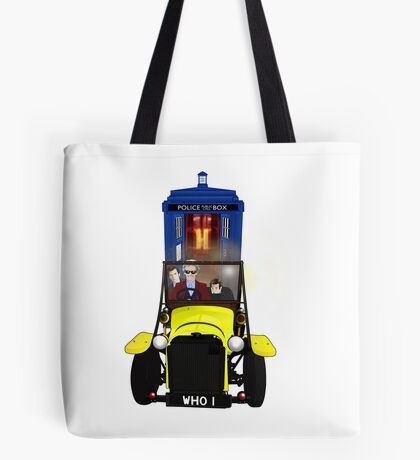 Time Lord Road Trip! Tote Bag