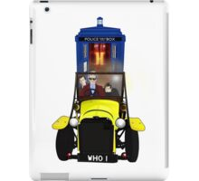 Time Lord Road Trip! iPad Case/Skin