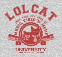 Lol Cat University red by KokoBlacksquare