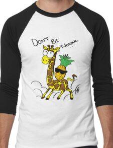 Don't Be Normal Men's Baseball ¾ T-Shirt