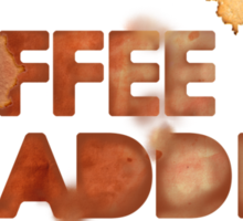 Coffee Addict Sticker