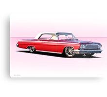 1962 Chevrolet Impala Hardtop Metal Print