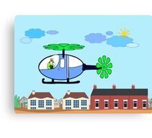 The Helicopter Canvas Print
