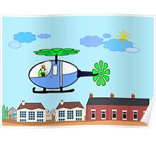 The Helicopter Poster