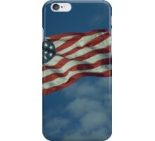 The Flag Waves iPhone Case/Skin