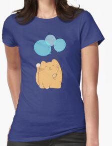 gil, the cat Womens Fitted T-Shirt