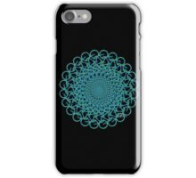 Fractal Bicycle 1010 iPhone Case/Skin